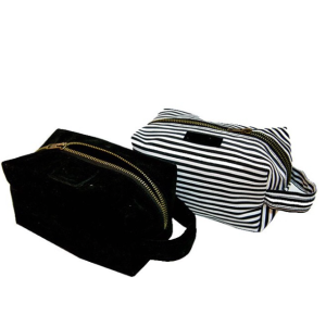 Toiletry pouch with different color